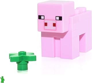 LEGO Minecraft Animal Minifigure - Minecraft Pig (from
