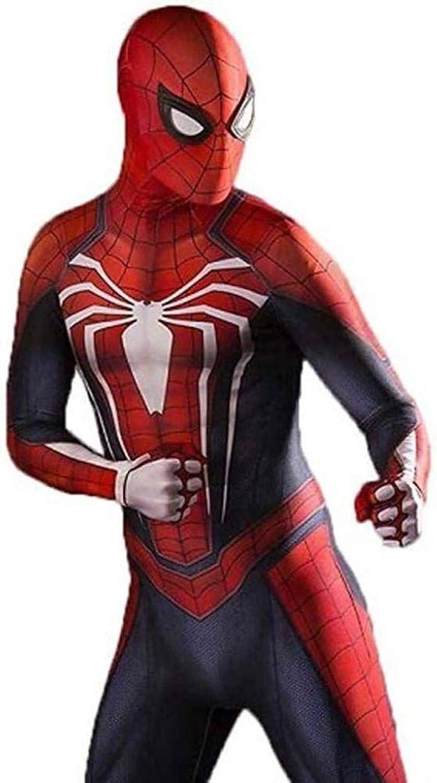 autorización oficial YIWANGO súper Fancy Fancy Fancy Spiderman CosJugar PS4 Medias Elásticas Halloween Show De Disfraces De Disfraces Accesorios De La Película del Traje Medias Siamesas,B-L  ventas en linea