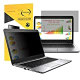 VIUAUAX 14 Inch Laptop Privacy Screen Filter for 16:9 Widescreen Display - Computer Monitor Privacy and Anti-Glare Protector
