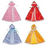 lahomia Paquete de 4 Capas de Accesorios de Ropa para 1/6 Blythe Licca / Momoko / Azone Dress Up