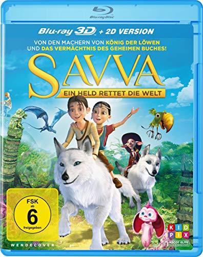 Savva - Ein Held rettet die Welt  (inkl. 2D-Blu-ray-Version)