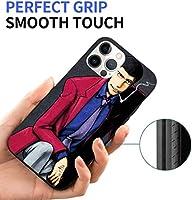 ルパン三世 Iphone 12/Iphone 12 Pro スマホケース 新型 Tpu 保護カバース 軽量 指紋防止 すり傷防止 レンズ保護 ワイヤレス充電対応 Iphone12カバー Iphoneケース ケース 超軽量 高級感 耐摩擦 おしゃれ かわいい シンプル ファッション