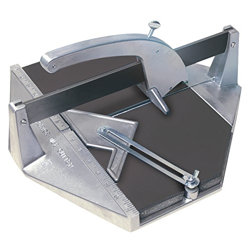 Superior Tile Cutter and Tools ST006 Tile Cutter with Carbide Cutting Wheel, Large