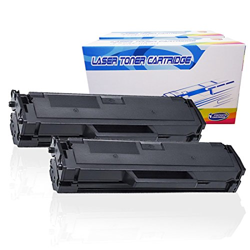 Inktoneram Compatible Toner Cartridges Replacement for Dell B1160 B1160w B1165nfw B1163w 331-7335 (Black, 2-Pack)