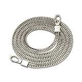 47 diy bolsa de repuesto cadena correa de metal bolso bolso cadenas accesorios correas monedero hombro cruzado correas de repuesto - plata