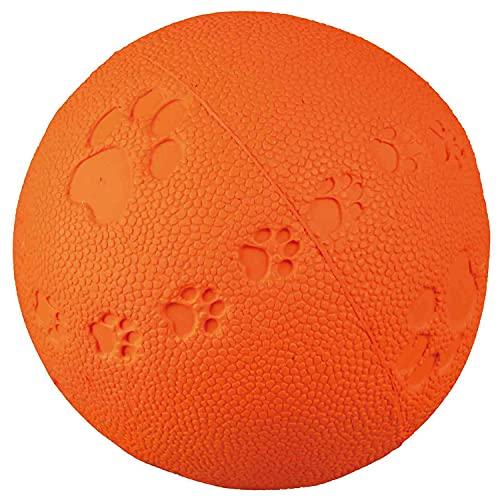 Trixie 34862 Spielball, Naturgummi, ø 7 cm