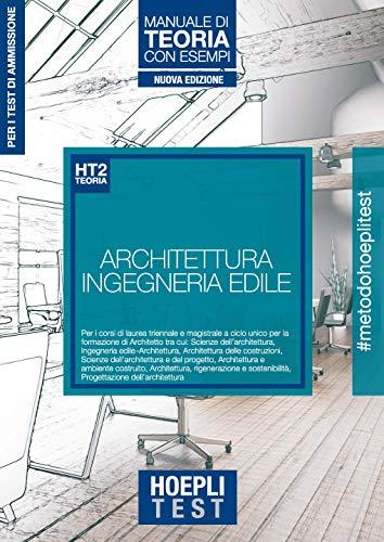 Hoepli test 2 architettura. Manuale di teoria con esempi