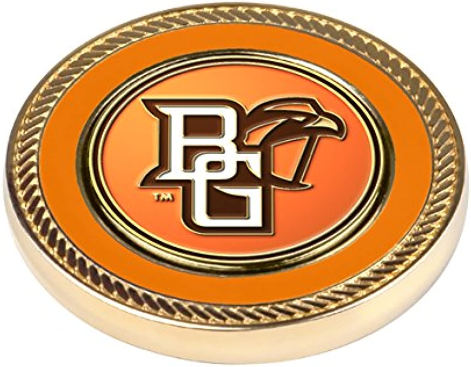 NCAA Bowling Green Falcons  Challenge Coin   2 Ball Markers