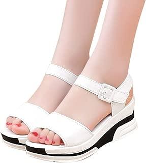 Fannyfuny/_Zapatos de Verano Sandalias Mujer Sandalias de Tac/ón Sandalias de Vestir Sandalias Mujer Cu/ña Sandalias Bohemia Mujer Zapatos Mujer Verano 2019 Sandalias y Chanclas Mujer 35-40