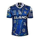 ZDVHM 2019-2020 MANEFISH HOGAR Y Away Away Rugby Jersey 100% Poliéster Tela Transpirable Deportes Fitness Fitness T-Shirt Rugby Uniform Camiseta de fútbol Camisa de fútbol para los fanáticos
