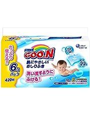 【おしりふき 詰替用】グーン 肌にやさしい 420枚(70枚×6個)