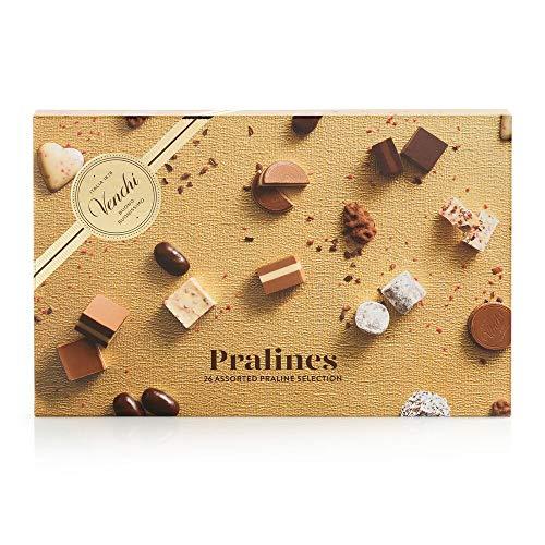 Venchi Scatola Regalo con Degustazione di Cioccolatini Praline, 216g - Senza Glutine