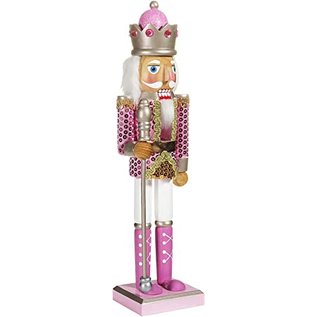 Hallmark Christmas Signature Premium Pink Nutcracker Ornament Seasonal Décor Zuiverlucht Nutcrackers