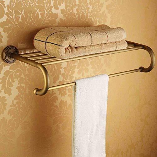 MGE Bathroom Shelf Wall Colgando Alambre De Cobre Toalla Toalla Toalla Bar Barra De Baño Suministros Suministros