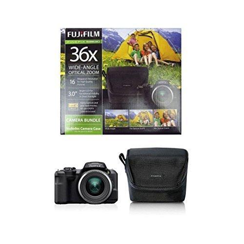 Fujifilm 16Mp Digital Camera with 36X Optical Zoom, Black
