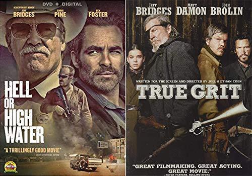 A Jeff Bridges Western Collection: Hell Or High Water & True Grit Bundle 2-DVD Set