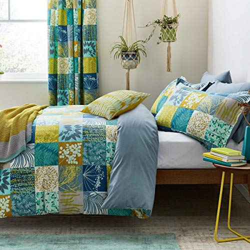 Clarissa Hulse Mini Patchwork Marine Housewife Pillowcase Pair