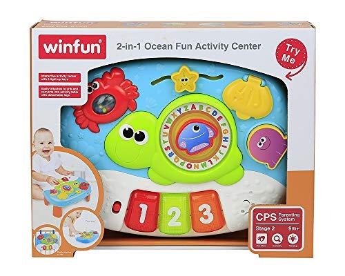 WinFun - speelcentrum voor kinderen met licht & geluid (COLORBABY 44529)