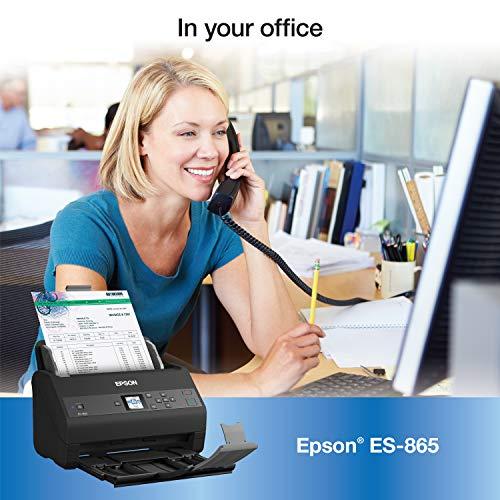 Epson Workforce ES-865 High Speed Color Duplex Document Scanner with Twain Driver