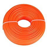 Cavo di Nylon, Filo da 3 mm Cavo di Filo di Nylon Corda Tonda Accessori per tagliaerba di Erba Benzina per rasaerba Cavo di Filo di Nylon(50m)