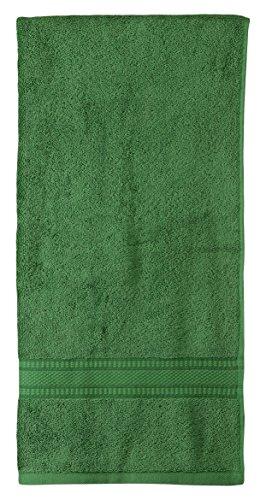 Trident Classic Solid 525 GSM Cotton Bath Towel - Jasper Green