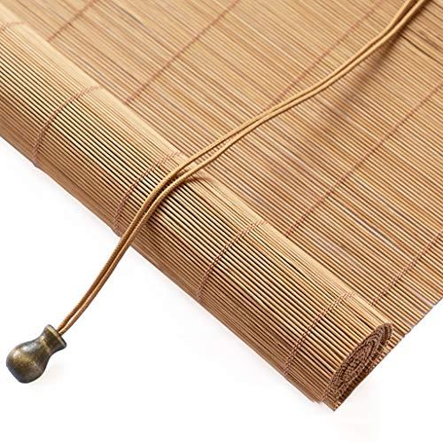 CCFCF Estores de Bambú, Persiana Enrollable, Adecuado para Patios/Jardines/Interiores/Exteriores Persiana Veneciana,180 * 200cm/71 * 79 in