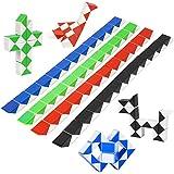 Puzzle de Magia Serpiente,24 Bloques Juguetes de Rompecabezas de Snake 8Pcs,3D Mini Magic Speed Cube juego Twister,Cuñas Regla Mágica Puzzle Educativos Toys para Niños Fiestas Favores Llenadores
