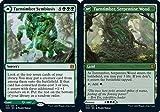 Magic: The Gathering - Turntimber Symbyosis // Turntimber, Serpentine Wood - Zendikar Rising