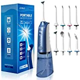 [Upgrade] Water Flossers for Teeth, ATMOKO Cordless Water Flosser, 8 Jet Tips, 3 Cleaning Modes, USB Charged 4 Hrs for 28-Days Use, IPX7 Waterproof, Oral Irrigator Electric Flosser 270ML for Travel - Best Reviews Guide