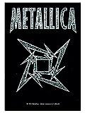 armardi Metallica Poster Fahne Ninja Logo