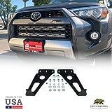 32' Hidden Lower Bumper LED Bar Mounts Fits 2014-2020 Toyota 4Runner