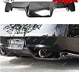 Difusor Trasero de Fibra de Vidrio FRP (con Accesorio) para Nissan Z33 350Z (2003-2008) e Infiniti G35 Coupe 2D JDM Tunk Lip Body Kit Car Styling Auto Tuning Trim Part