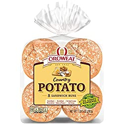 Oroweat Country Potato Sandwich Buns, 8 count