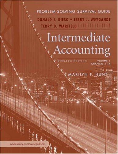 Download Intermediate Accounting, Problem Solving Survival Guide Vol. I (Ch1-14) t/a Intermediate 0471750859
