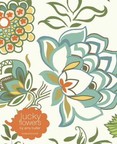 Lucky Flowers Notecard Book: Sunblooms