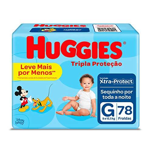 Huggies Fralda Tripla Proteção