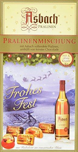 Asbach-Pralinen mischung mit Weihnachts-Aufleger, 2er Pack (2 x 125 g)