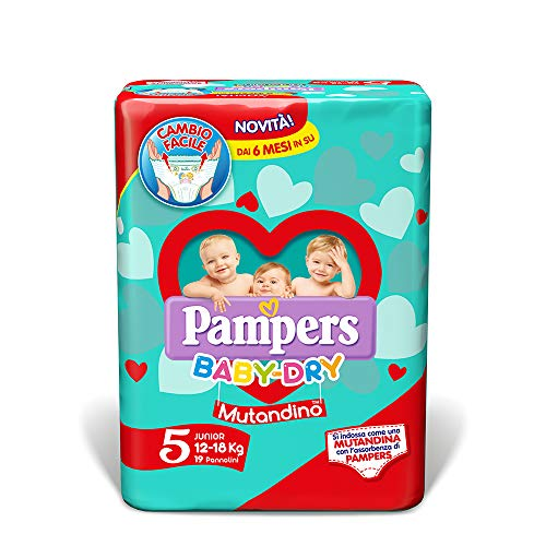Pampers Baby Dry Maxi Taglia 5