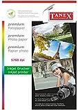TANEX Print4Life - Papel fotográfico (200 g, 10 hojas, DIN A4)