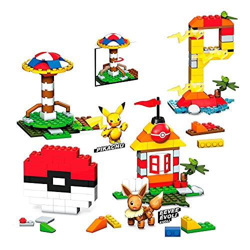 Mega Construx Caja de Construcción, 450 Bloques, Multicolor