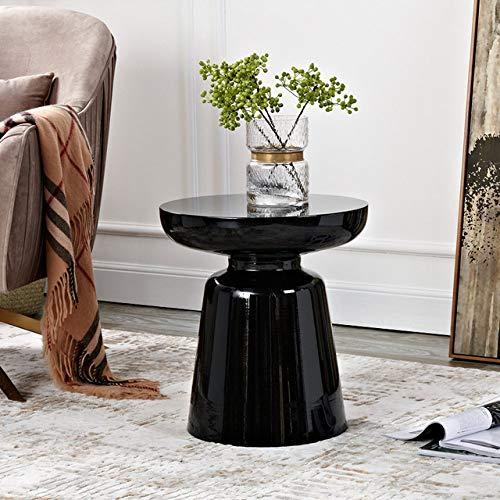 Nachtkastje LKU Martini salontafel Nordic woonkamer bank bijzettafel casual salontafel, zwart