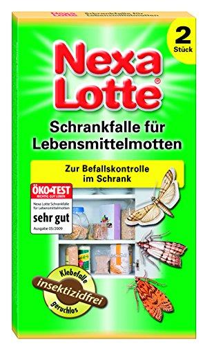 Nexa Lotte Schrankfalle für Lebensmittelmotten - 2 St.