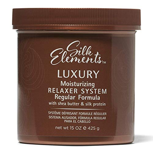 Silk Elements Luxury Moisturizing Relaxer System | With Shea Butter and Silk Protein 425g| Hair...