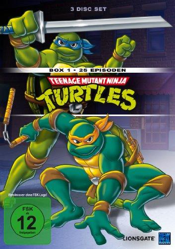 Teenage Mutant Ninja Turtles - Box 1 (Episoden 1-25) [3 DVDs]