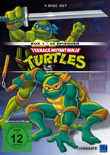 Teenage Mutant Ninja Turtles - Box 1 (Episoden 1-25) [3 DVDs]