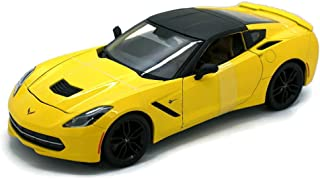 Maisto 2014 Chevrolet Corvette Stingray Z51 SPECIAL EDITION Diecast 1:18 Yellow