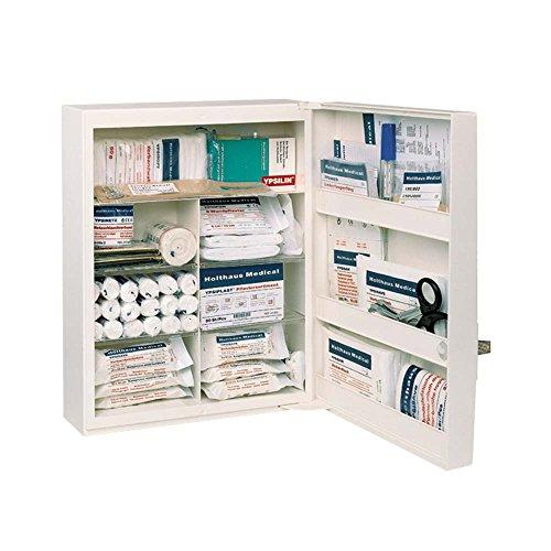 *FAMULUS Verbandschrank, Erste-Hilfe-Schrank, weiß, leer, 34 x 45 x 16,5 cm*