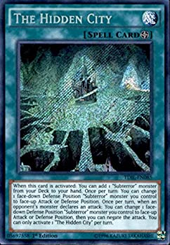 Yu-Gi-Oh! - The Hidden City  TDIL-EN085  - The Dark Illusion - 1st Edition - Secret Rare