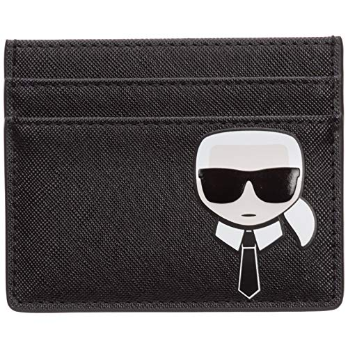 Karl Lagerfeld hombre K/ikonik fundas para tarjetas de visita nero