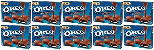 Oreo bañadas chocolate con leche 246 gr. - [Pack de 10]